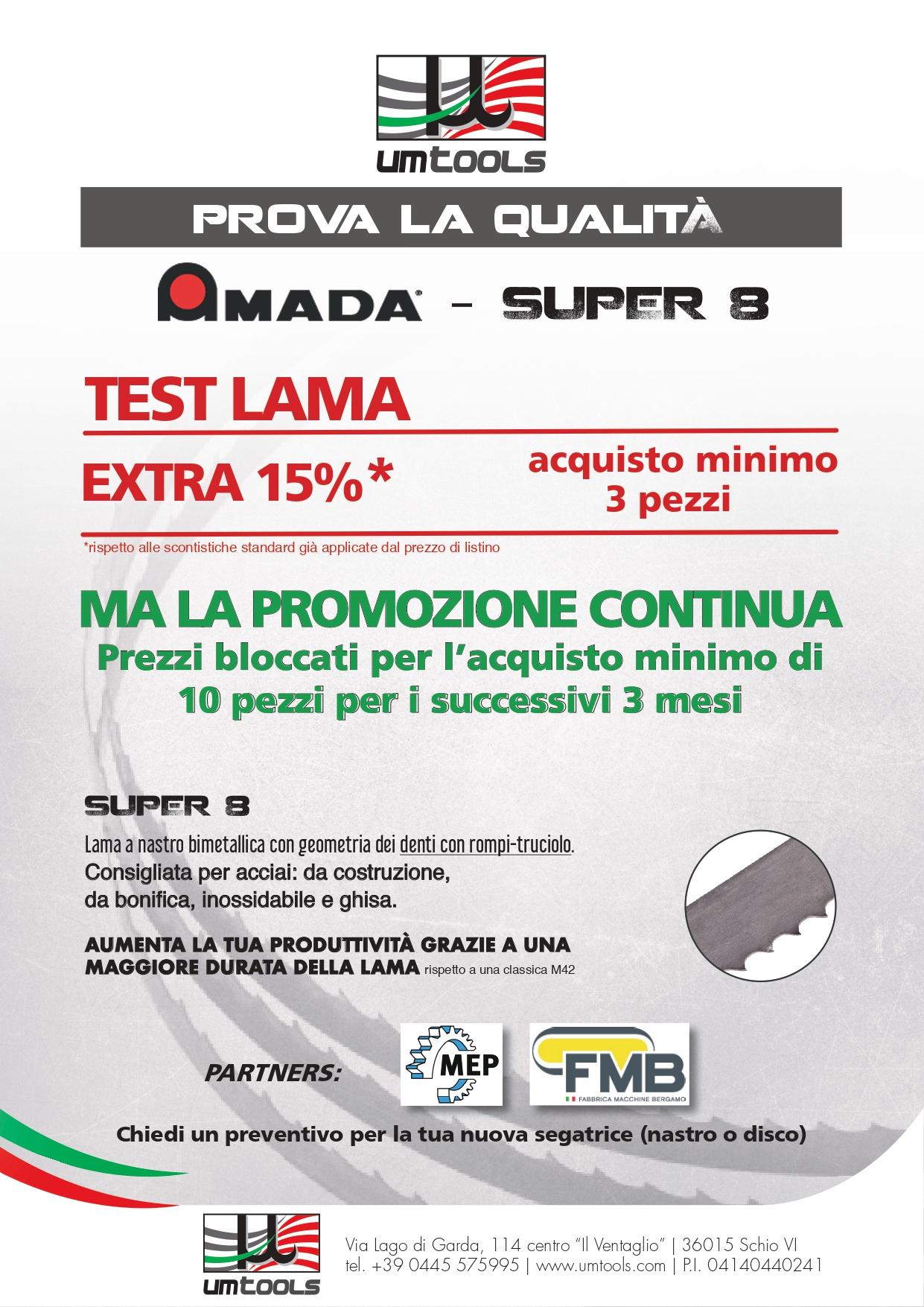 Promozione-lame-AMADA-SUPER8