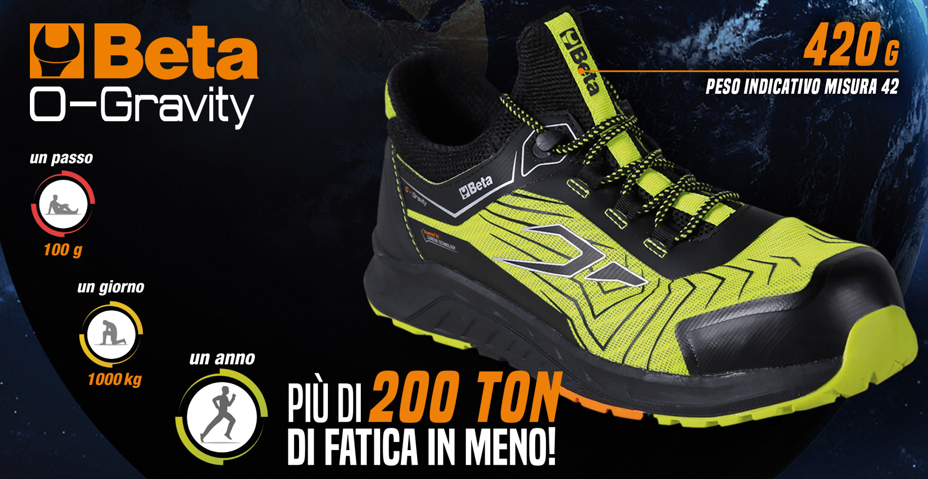 scarpe antinfortunistica O-Gravity beta